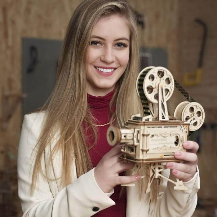 Vitascope puzzle mecanic 3D din lemn 1