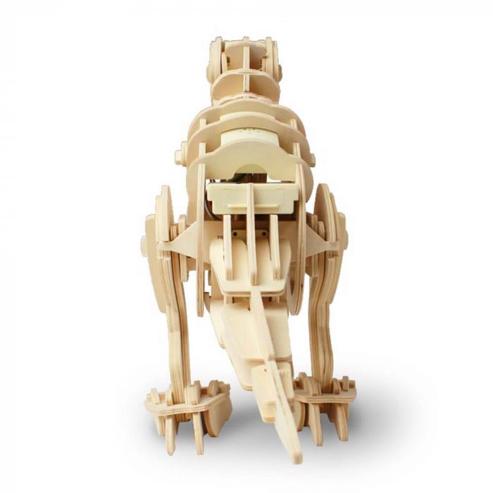 Teribilul T-Rex - Puzzle 3D din lemn [1]