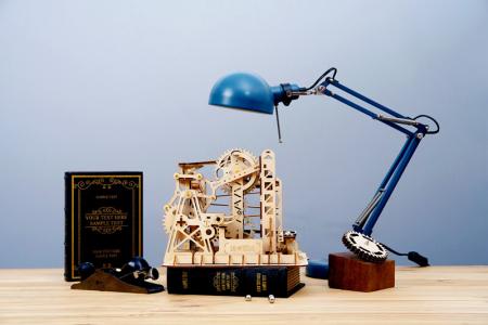Marble Explorer - Puzzle mecanic 3D din lemn [1]