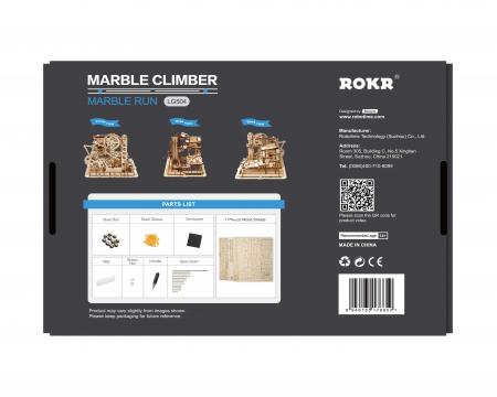 Marble Climber - Puzzle mecanic 3D din lemn5