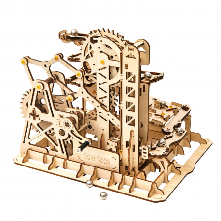 Marble Climber - Puzzle mecanic 3D din lemn6