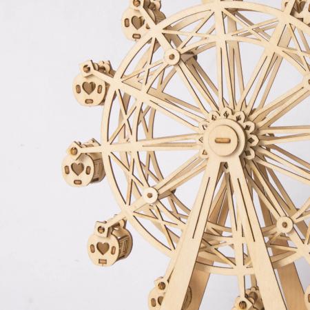 Roata magică - Puzzle 3D din lemn6