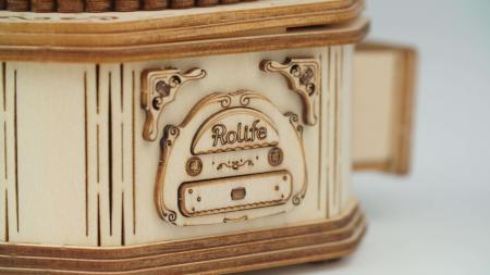 Gramofon - Puzzle 3D din lemn6