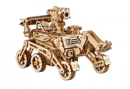 Harbinger Rover - Puzzle mecanic 3D din lemn0