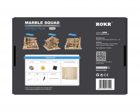 Marble Squad - Puzzle mecanic 3D din lemn2