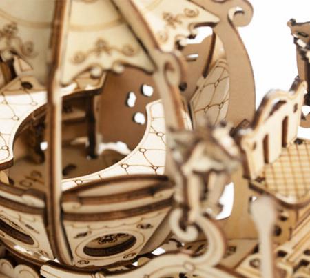 Caleaşca Cenuşăresei - Puzzle 3D din lemn8