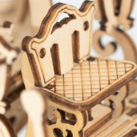 Caleaşca Cenuşăresei - Puzzle 3D din lemn5