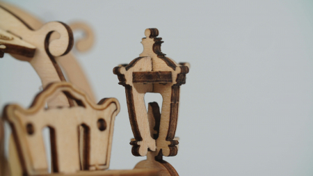 Caleaşca Cenuşăresei - Puzzle 3D din lemn3