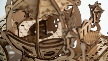 Caleaşca Cenuşăresei - Puzzle 3D din lemn1
