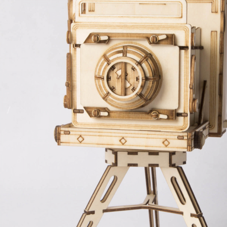 Aparat foto de colecţie - MechFun Puzzle 3D din lemn [3]