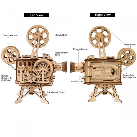 Vitascope - Puzzle mecanic 3D din lemn2