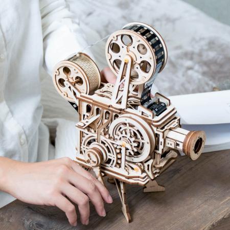 Vitascope - Puzzle mecanic 3D din lemn0