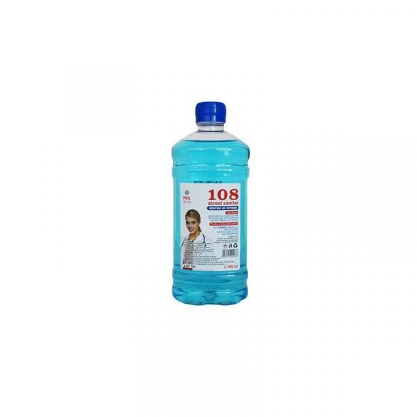 Alcool sanitar 108 pentru uz extern 500ml 0
