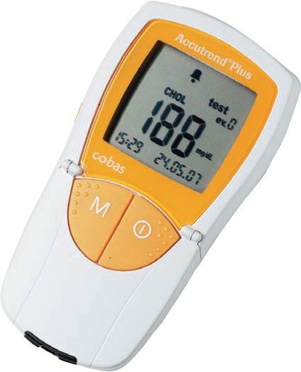 Analizor glicemie, colesterol, trigliceride, lactate Accutrend Plus GCT 0