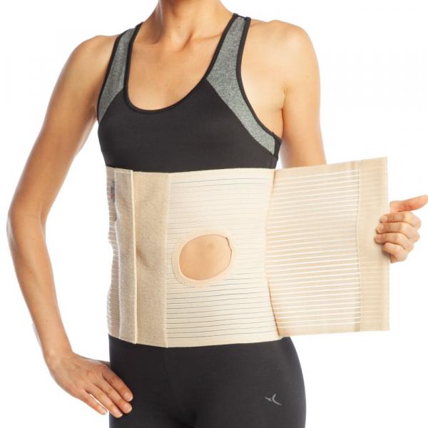 Orteza abdominala cu deschidere pentru colostomie h 26cm 1