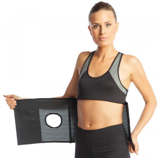 Orteza abdominala cu deschidere pentru colostomie h 26cm [4]