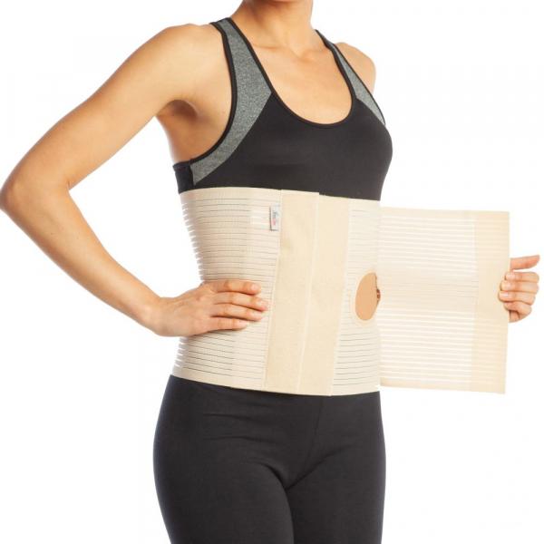 Orteza abdominala cu deschidere pentru colostomie h 26cm [0]