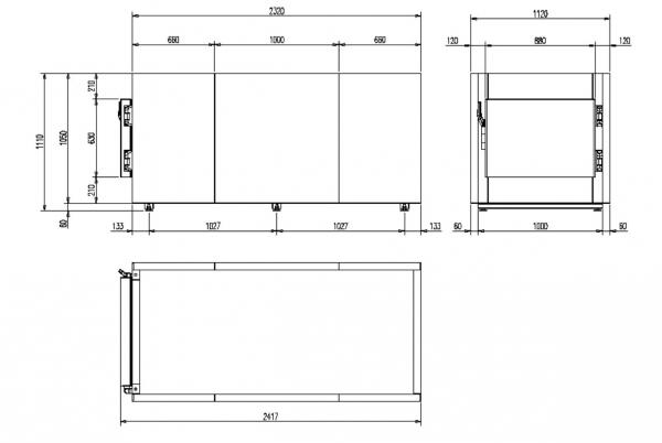 Camera mortuara modulara MMC 1.1- 1