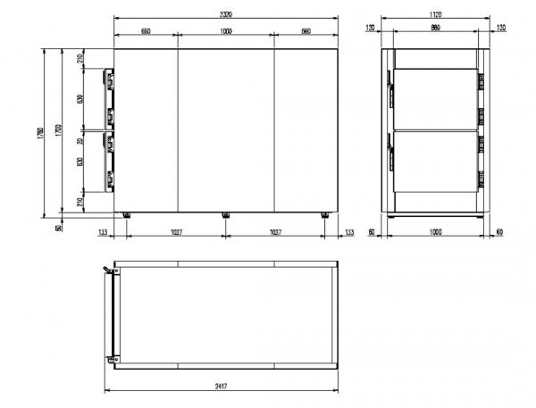 Camera mortuara modulara MMC 2.2 - 1