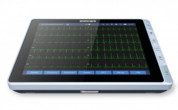 Electrocardiograf 6 canale Zoncare PAD iMAC 12 0