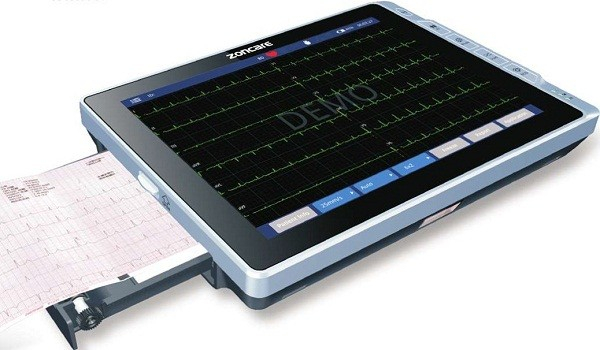 Electrocardiograf 6 canale Zoncare PAD iMAC 12 1