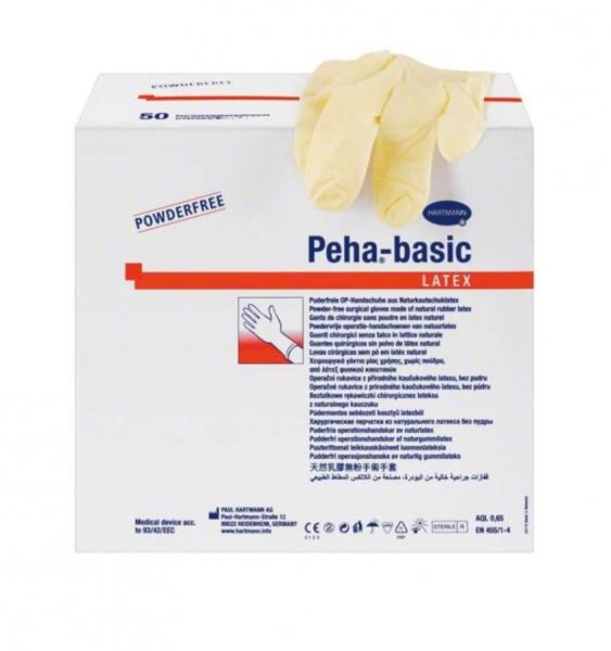 Manusi chirurgicale Peha-basic latex nepudrate 0