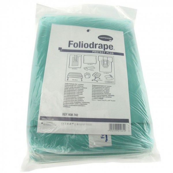 Seturi ranforsate chirurgie cardiovasculara Foliodrape Protect Plus 0