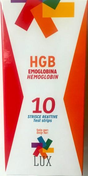 Lux teste hemoglobina 0