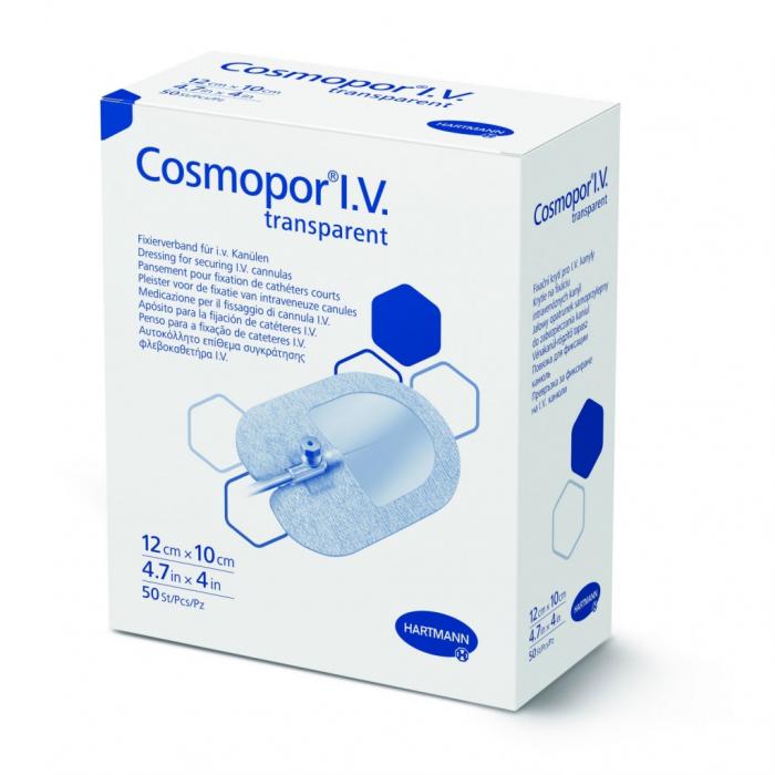 Plasture fixare branule Cosmopor I.V. Transparent [0]