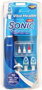 Set pentru igiena orala cu ultrasunete Brushpoint Vital Health Sonic Oral Care 0