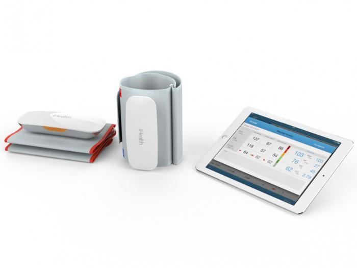 Sistem de monitorizare cardiovasculara (indice glezna-brat) iHealth CardioLab [1]