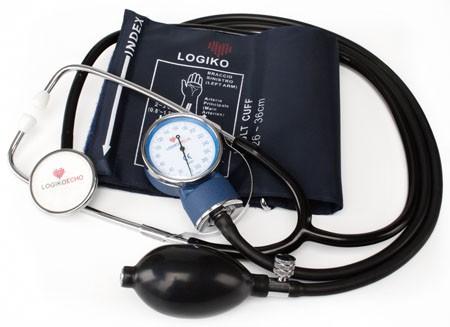 Tensiometru mecanic cu stetoscop Logiko DM333 0