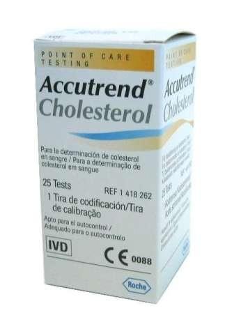 Teste Accutrend Colesterol 0