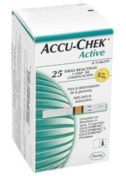 Teste glicemie Accu-Chek Active 0