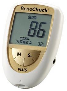 Analizor Benecheck Plus Gold glicemie, colesterol si acid uric0