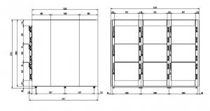 Camera mortuara modulara MMC 9.9 -1