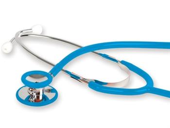 Stetoscop cu capsula dubla GIMA- Latex Free - blue (32575) [0]