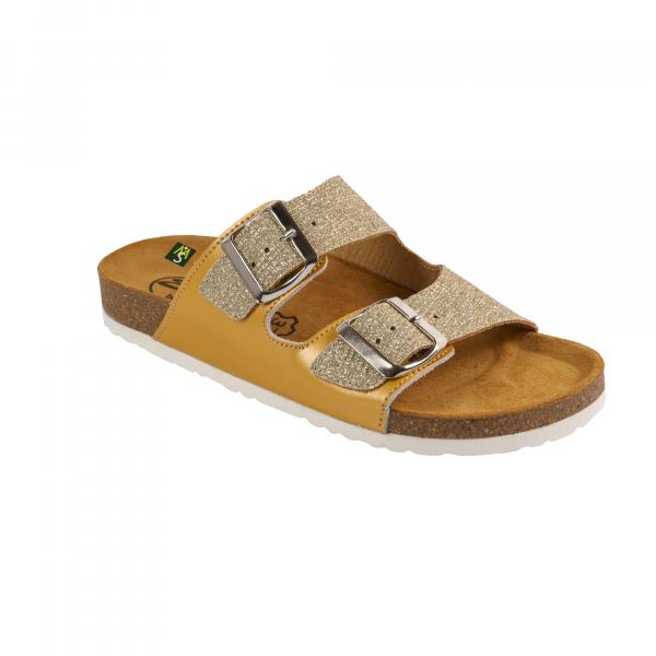 Papuci Medi+ Ena 32 malibu gold - dama 0