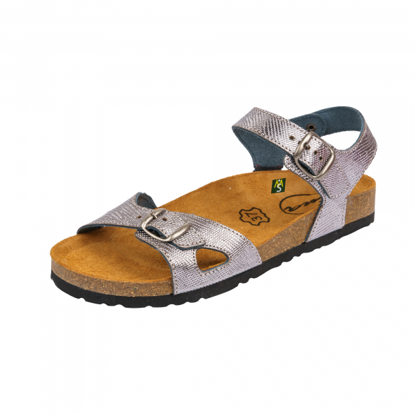 Sandale Medi+ Ena 33 lizard argentum - dama 0