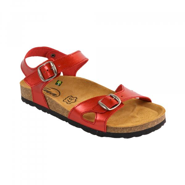 Sandale Medi+ Ena 33 malibu red - dama 0