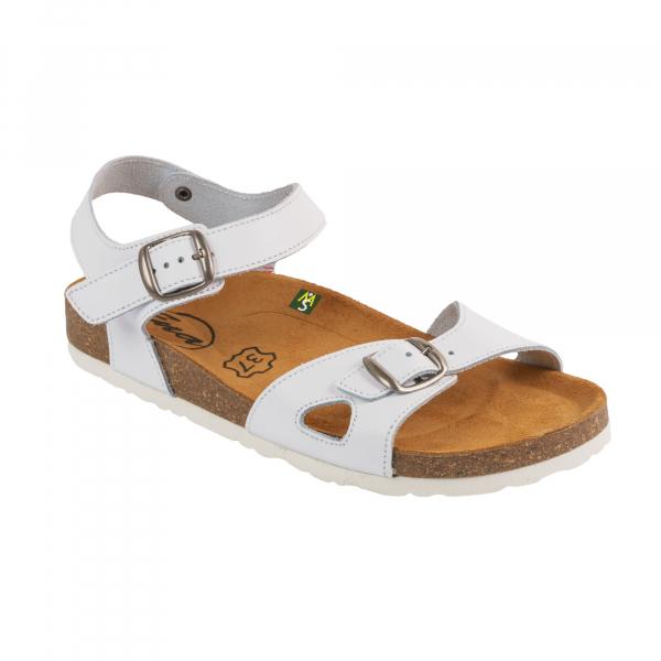 Sandale Medi+ Ena 33 alb - dama 0