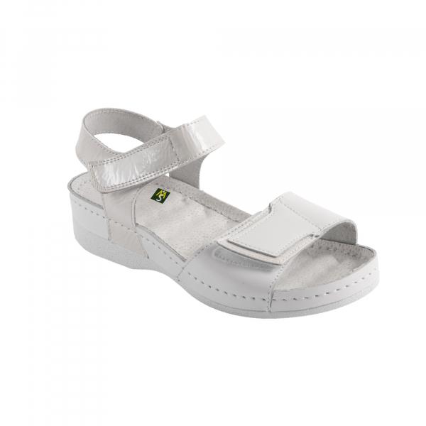 Sandale Medi+ V2 alb - dama 0