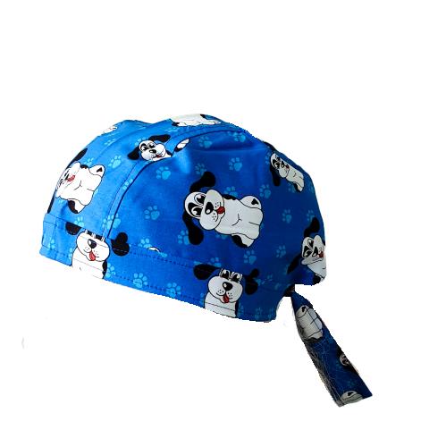 Boneta albastra cu catelusi 0