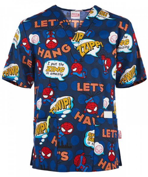 "Bluza medicala ""Tooniforms Marvel Spiderman"" (CK606MAI) 0"