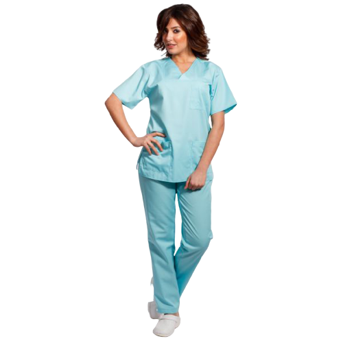 Costum medical aqua - unisex 0