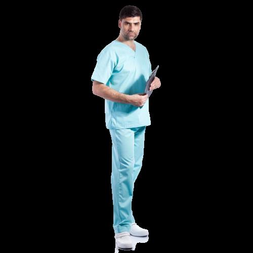 Costum medical aqua - unisex [1]