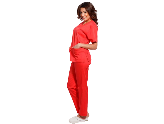 Costum medical corai - unisex 0
