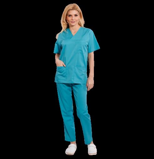 Costum medical turcoaz verde - unisex [0]