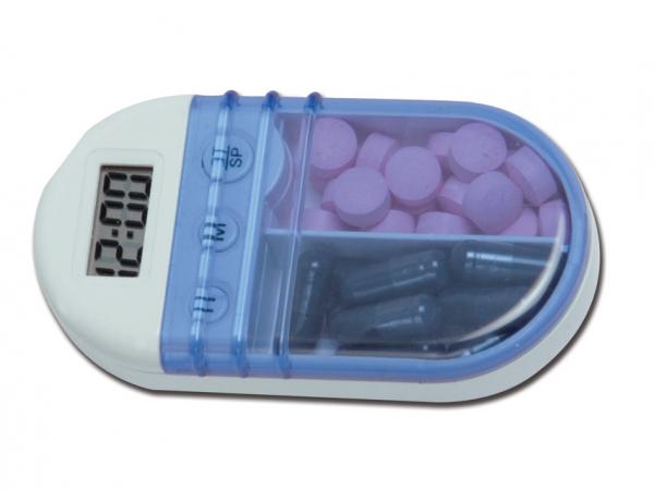 Cutie de medicamente cu alarma (memento) 0