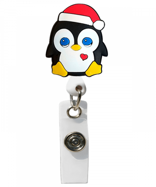"Ecuson retractabil ""Christmas Penguin"" 0"